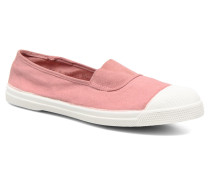 Tennis Elastique Ballerinas in rosa