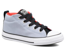 Chuck Taylor All Star Street Mid Sneaker in grau