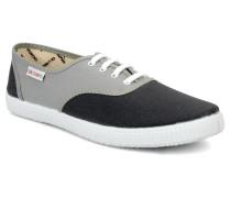 bicolore m Sneaker in grau