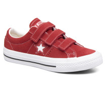 One Star 3V Ox Sneaker in rot