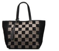 CABAS PARISIEN Cuir damier Handtaschen für Taschen in schwarz