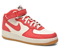 Air Force 1 Mid Sneaker in rot