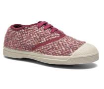 Tennis Girly Tweed E Sneaker in rosa