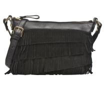 AMANDINA Porté travers à franges Handtaschen für Taschen in schwarz