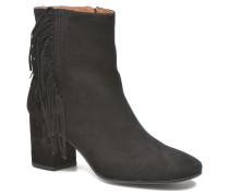 Jodi Fringe Short Stiefeletten & Boots in schwarz
