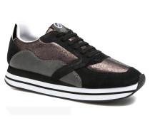 Eden street hot suede Sneaker in schwarz