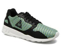 Lcs R900 Geo Jacquard Sneaker in schwarz