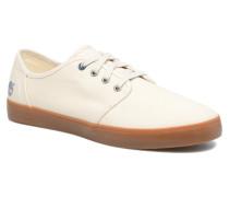Newport Bay Canvas Plain Sneaker in weiß