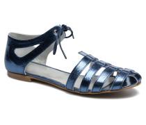 Popies Crease Sandalen in blau