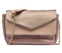 Mini Leçon Cuir Trio Handtasche in rosa