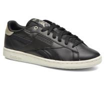 Npc Uk Metallic Sneaker in schwarz