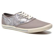 JJSpider Canvas Palm Print Sneaker in grau