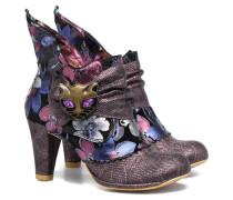 Miaow Stiefeletten & Boots in lila