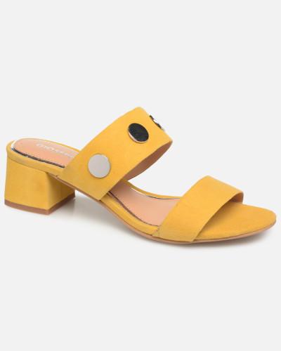 49041 Clogs & Pantoletten in gelb