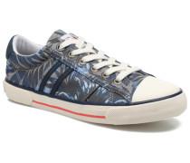 Serthi Flowers Sneaker in grau