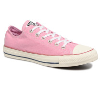 Chuck Taylor All Star Stone Wash Ox W Sneaker in rosa