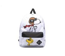 OLD SCHOOL II Rucksäcke für Taschen in weiß