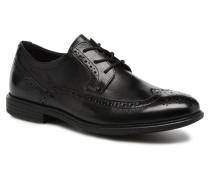 Madson Wingtip Schnürschuhe in schwarz