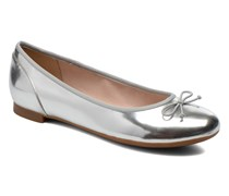 Couture Bloom Ballerinas in silber
