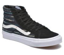 Sk8Hi Slim W Sneaker in schwarz