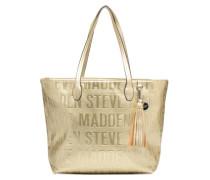 Brepeat Handtasche in goldinbronze