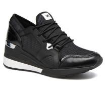 Scout Trainer Sneaker in schwarz