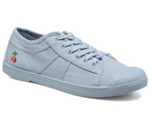 Basic 02 Mono Sneaker in blau