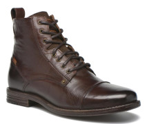 Emerson Lace Up Stiefeletten & Boots in braun