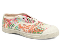 Tennis Elly Feuilles Exotiques E Sneaker in mehrfarbig