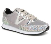 Deportivo Ciclista Glitter Sneaker in grau