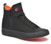 Ctas Selene Shield Canvas Mid Sneaker in schwarz