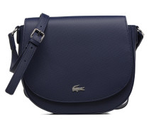 ROUND CROSSOVER BAG Handtasche in blau
