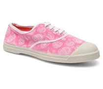 Tennis Paisley Sneaker in rosa