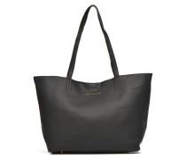 CHIVA Cabas Cuir Handtaschen für Taschen in schwarz