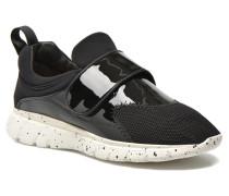 Running Sneaker in schwarz