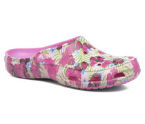 Freesail Graphic Clog W Clogs & Pantoletten in rosa