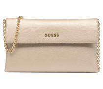 TULIP Envelope clutch Mini Bags für Taschen in goldinbronze