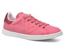 Deportivo Basket Lona Tinta Sneaker in rosa
