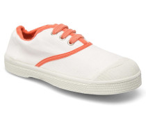 Tennis Colorpiping E Sneaker in weiß