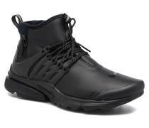Air Presto Mid Utility Sneaker in schwarz