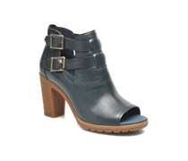 Earthkeepers Glancy Peep Toe Stiefeletten & Boots in blau