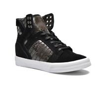 Supra - Skytop Wedge W - Sneaker für Damen / schwarz