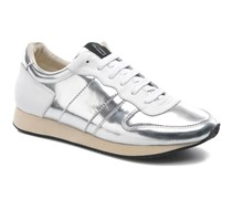 Trainer Sneaker in silber