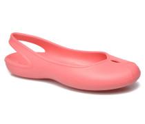 Olivia II Flat W Clogs & Pantoletten in rosa