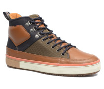 Falcon Mix Sneaker in braun