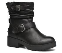 Biker Stiefeletten & Boots in schwarz