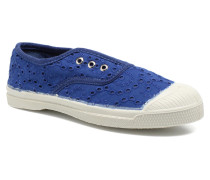 Tennis Elly Broderie Anglaise E Sneaker in blau