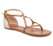 Terri Flat Sandal Sandalen in braun
