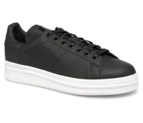 Stan Smith New Bold W Sneaker in schwarz