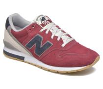 MRL996 Sneaker in weinrot